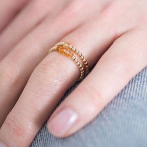 Bague Citrine Or 29,95€