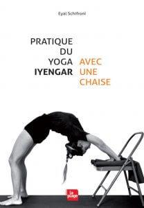 Pratique du yoga Iyengar avec une chaise 19,95€